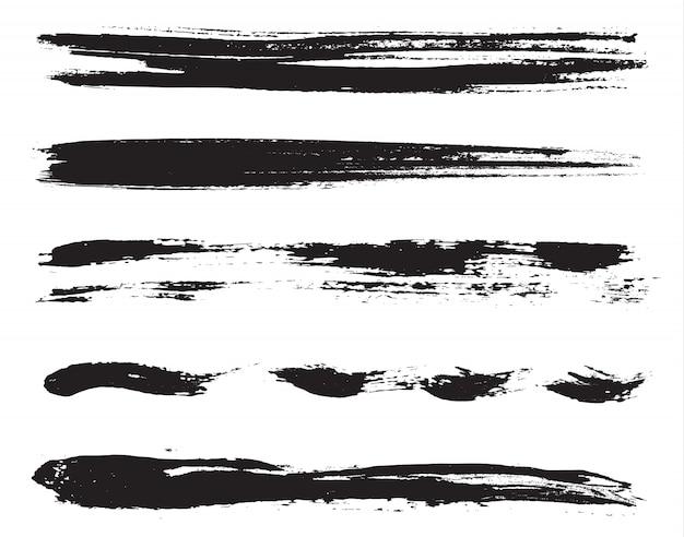 Lignes de peinture grunge