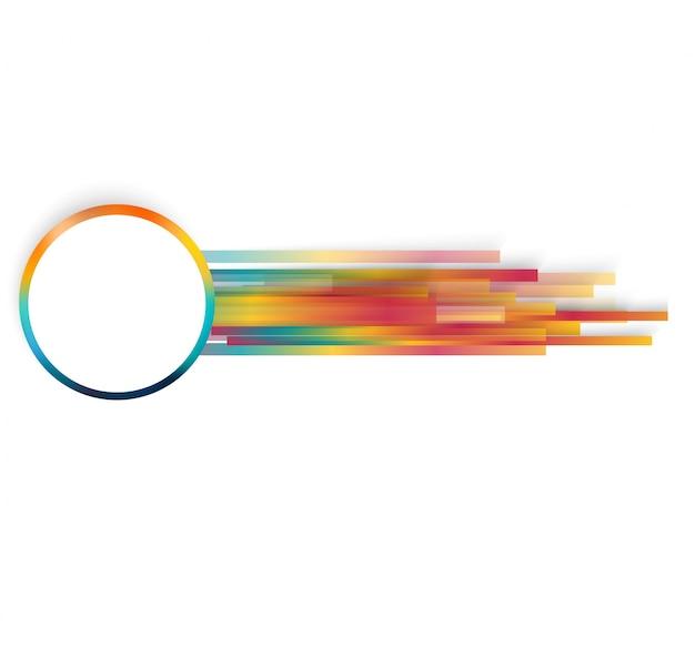Les lignes de rayures abstract background vecteur.