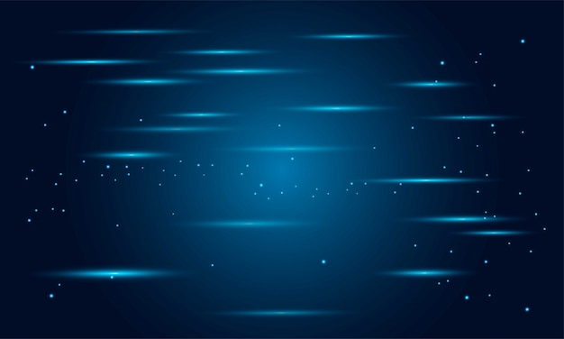 Lignes de techno rougeoyantes au néon, abstrait abstrait futuriste de haute technologie