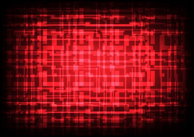 Lignes de technologie brillantes abstraites et fond clair