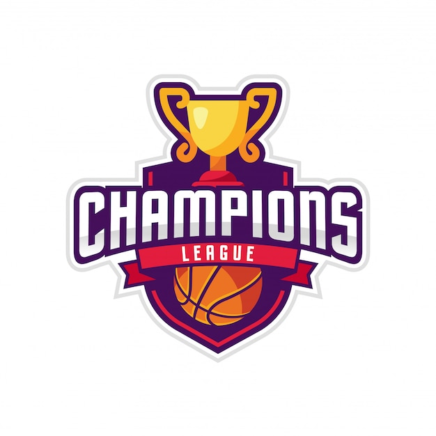 Ligue des champions american logo sport