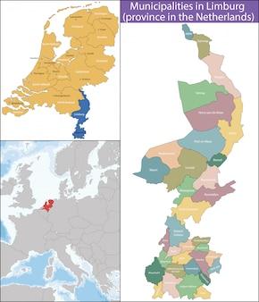 Le limbourg est une province des pays-bas
