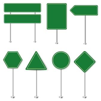 Limite de vitesse et grande collection de panneaux de signalisation