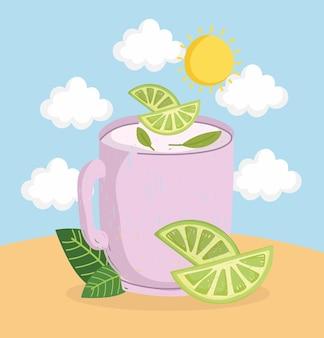 Limonade en pot