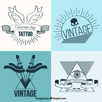 Linear set tatouages cru