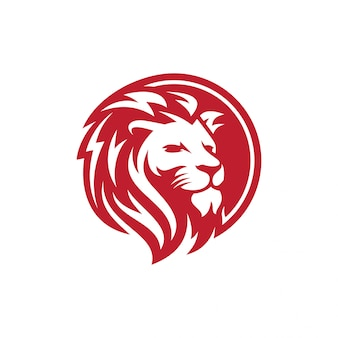 Lion logo vector template