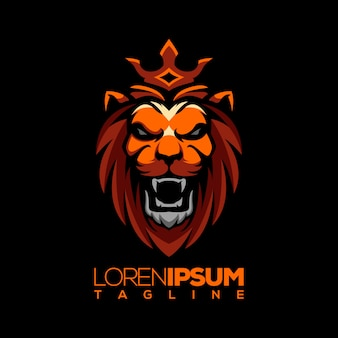 Lion logo vectoriel