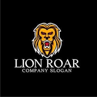Lion rugissant logo
