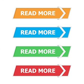 Lire plus de boutons placés dans un appartement avec une flèche blanche