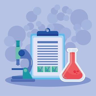 Liste de contrôle et chimie