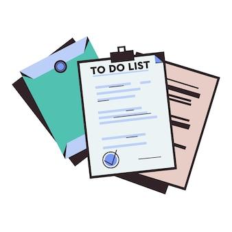 Liste de contrôle planification du mois pour faire la liste gestion du temps mise en œuvre du plan