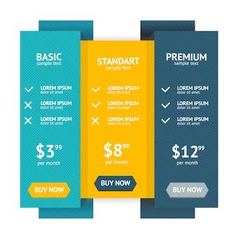 Liste de prix perfect web boxes