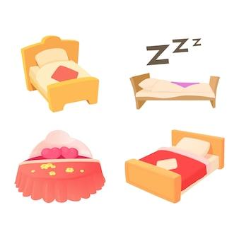 Lit d'icônes de lit