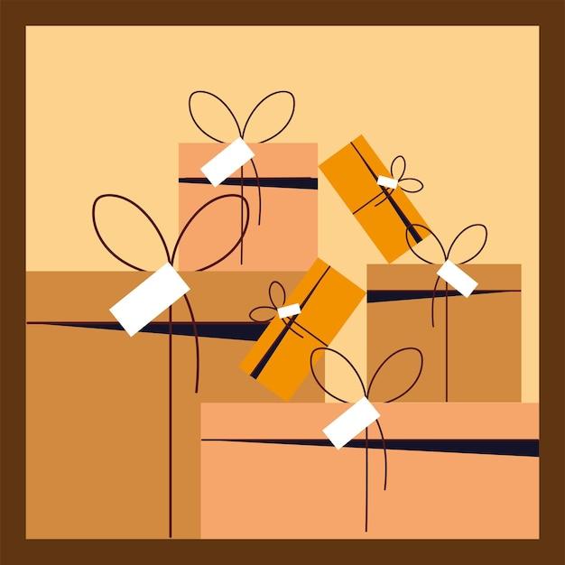 Livraison de cartons, service de messagerie