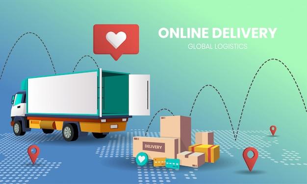 Livraison de shopping en ligne