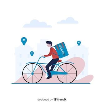 Livraison de vélos