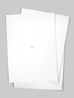 Livre blanc sur fond de texture béton. illustration vectorielle.