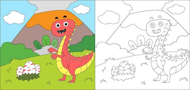 Livre de coloriage dino pour les enfants