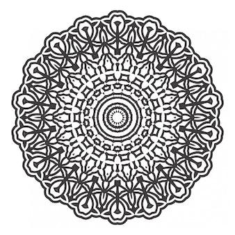 Livre de coloriage mandalas noir et blanc