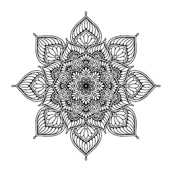 Livre de coloriage mandalas, thérapie orientale, yoga