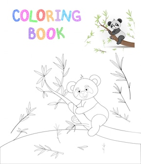 Livre de coloriage pour enfants avec animaux dessinés