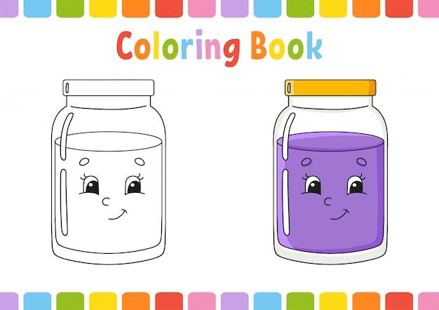 Livre de coloriage pour les enfants.