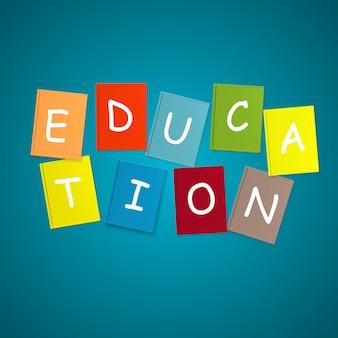 Livre education concept. illustration