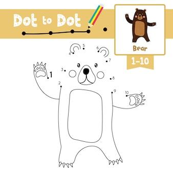 Livre de jeu et de coloriage bear bear