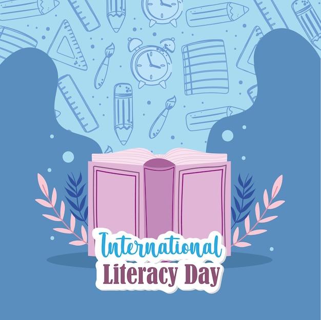 Livre de la journée internationale de l'alphabétisation