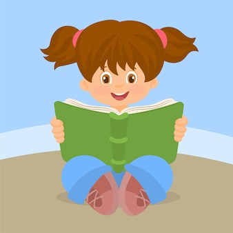 Livre de lecture fille