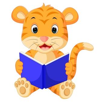 Livre de lecture de tigre