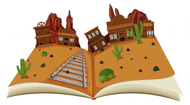 Livre ouvert du far west