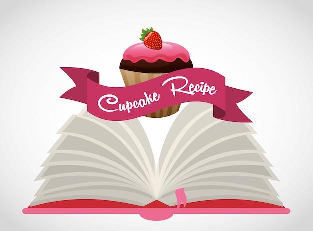 Livre de recettes cupcake