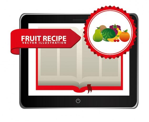 Livre de recettes de fruits