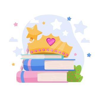 Livres de contes de fées créatifs illustrés
