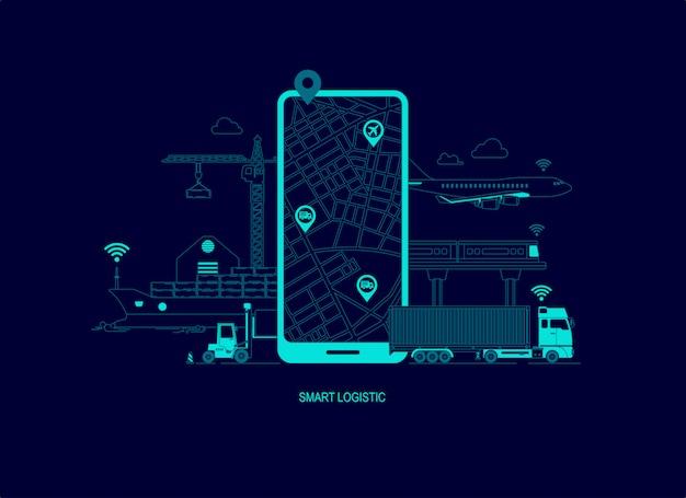 Logistique intelligente