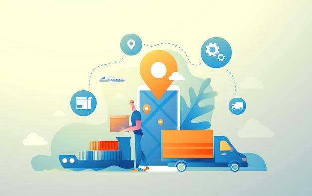 Logistique numérique (nag)