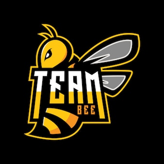 Logo de l'abeille d'équipe