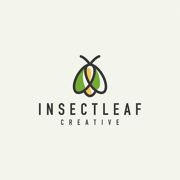 Logo d'abeille unique