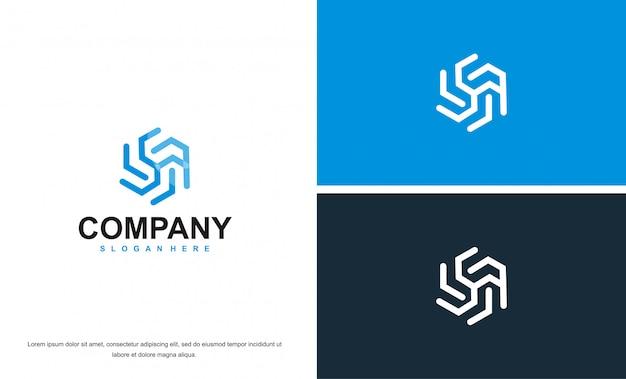 Logo abstrait arbre