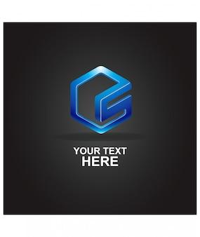Logo abstrait lettre s