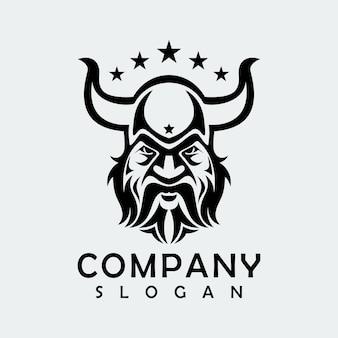 Logo abstrait viking