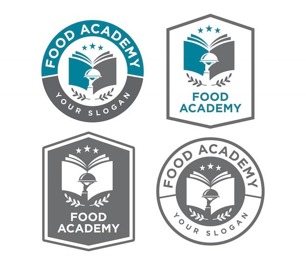 Logo de l'académie alimentaire élégante