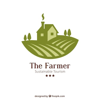 Le logo de l'agriculteur
