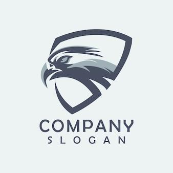 Logo aigle vecteur