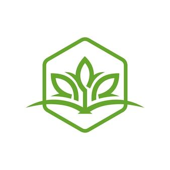 Logo d'aménagement paysager