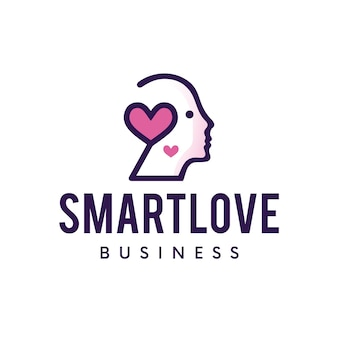 Logo d'amour intelligent