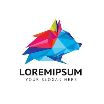 Logo animal loup