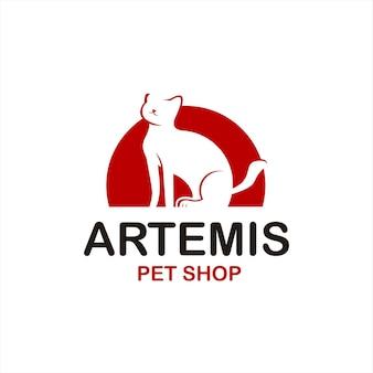 Logo de l'animalerie simple