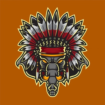 Logo apache elephant sport